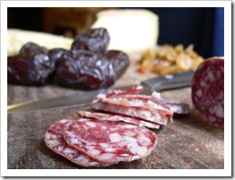 Salami & Medjool dates
