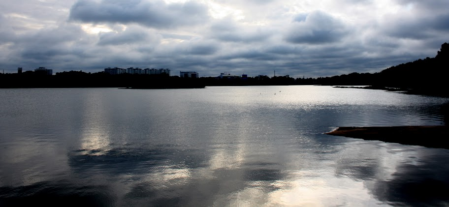 View of Hebbal Lake