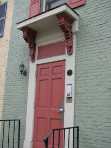 Federal Architecture Details in Historic District Frederick