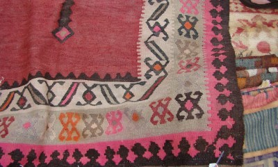 the estate of things chooses vintage kilims