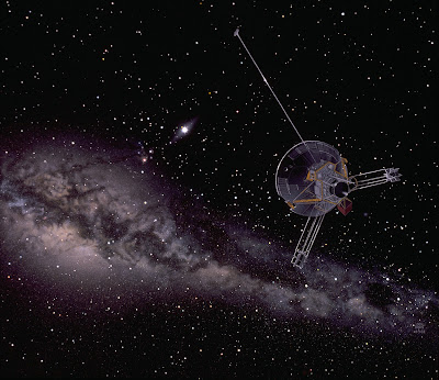 Artist depiction of Pioneer 11