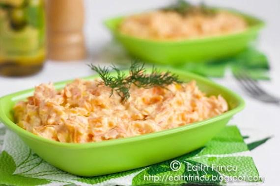 salata de morcovi cu iaurt 2