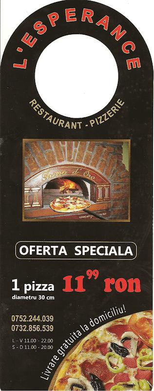 pliant pizza L'Esperance - noiembrie 2010