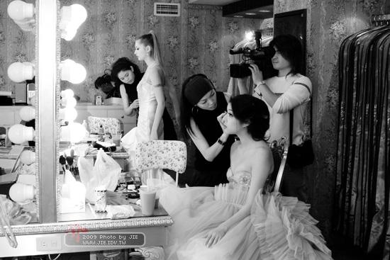 風華瞬逝的婚紗店開幕慶