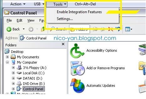 remote app dan seamless application di VPC