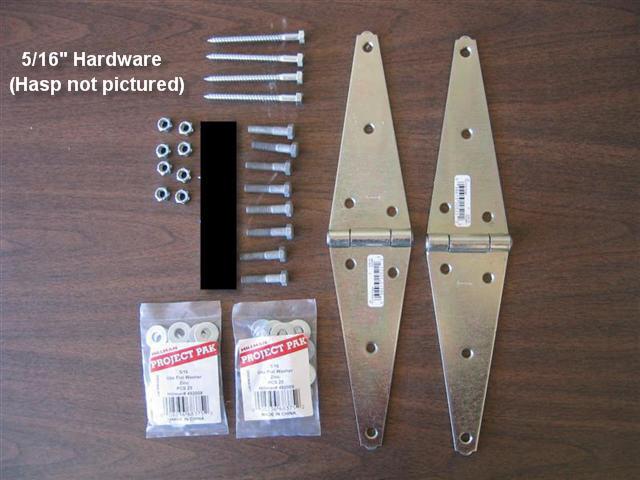 Folding Workbench - Hardware
