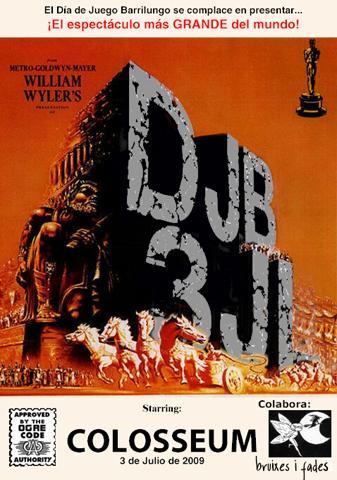 Cartel promocional DJB Julio 09