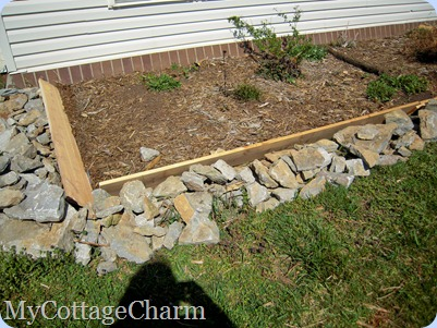 raised planter bed