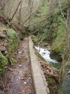 Dettaglio del vecchio canale