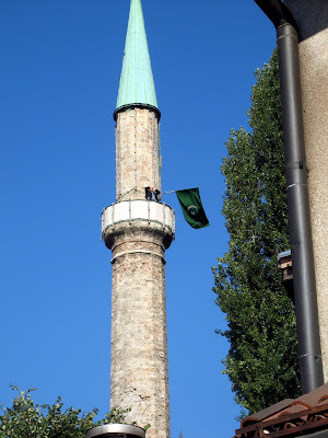 My Favorite Sarajevo Picture - Calling out the Prayer without Amplification