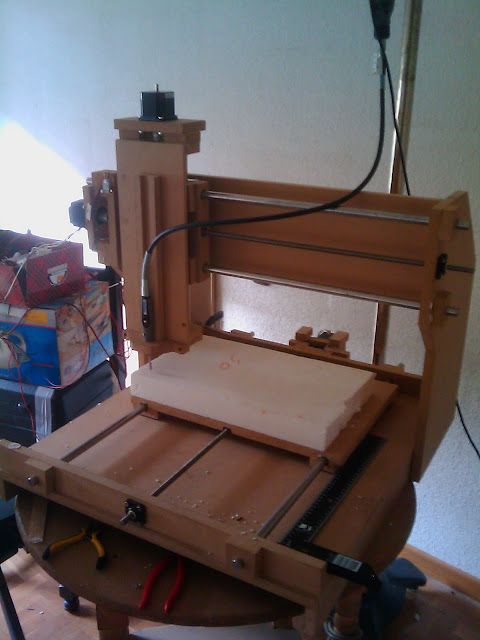 My CNC Refurbished and ready to work!