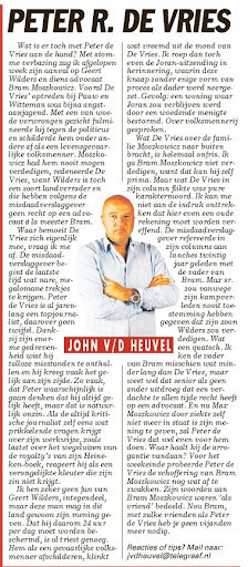 John vd heuvel-telegraaf