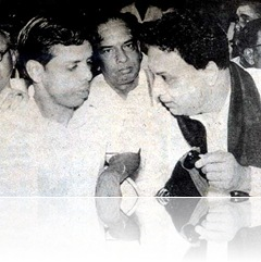 MGR and Nagesh in a Function