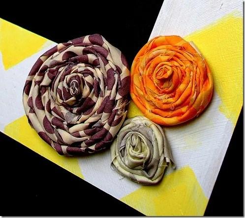 rosettes close up
