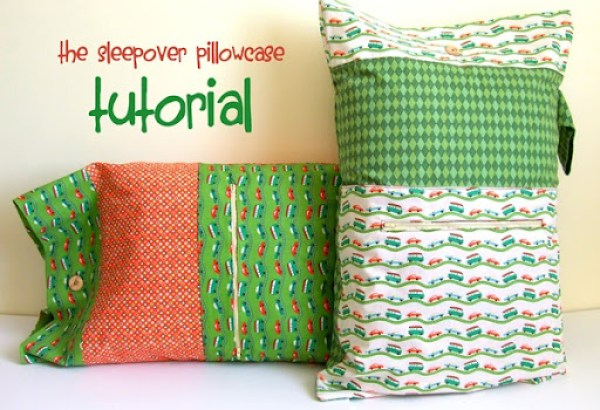 The Sleepover Pillowcase Tutorial {a lemon squeezy home}