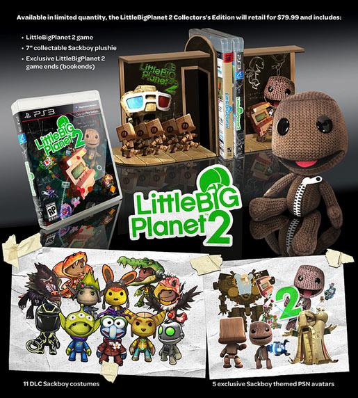 Little Big Planet 2 Collectors Edition