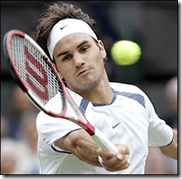 Federer focused