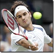 Federer focused