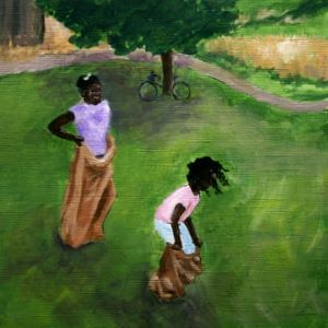 The Sack Race by Jean Nelson