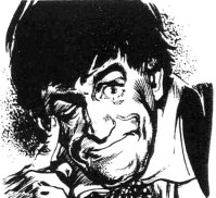 Patrick Troughton as the Doctor, as he appeared in TV Comic