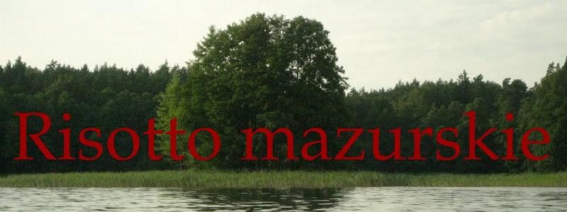 Risotto mazurskie: banner