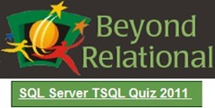 BR TSQL Quiz March 2011