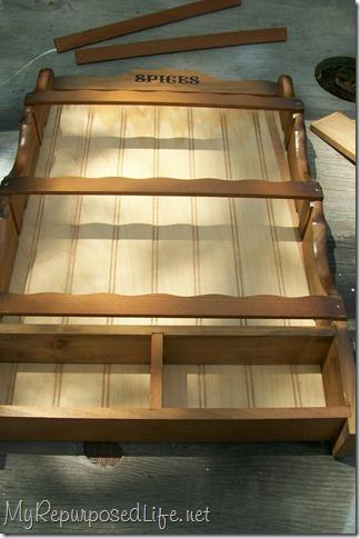 repurposed Spice rack 4
