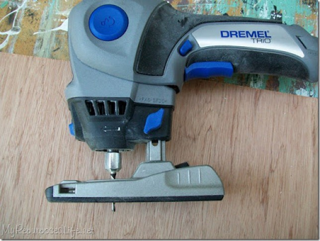 dremel trio plunge cutting