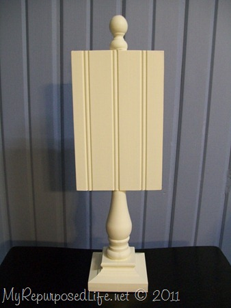pedestal display beadboard