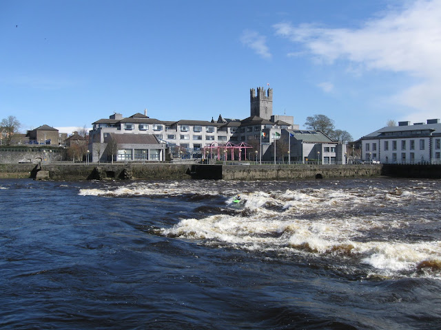 View over the River Shannon in Limerick