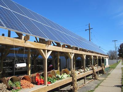 Solar Food Stand