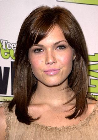 Shoulder length hair styles Medium Celebrity Hairstyles
