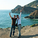 Frank an I living it up in San Francisco :)