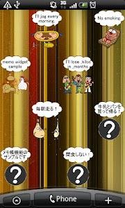 Daily Cartoon019 LWP & Clock screenshot 6