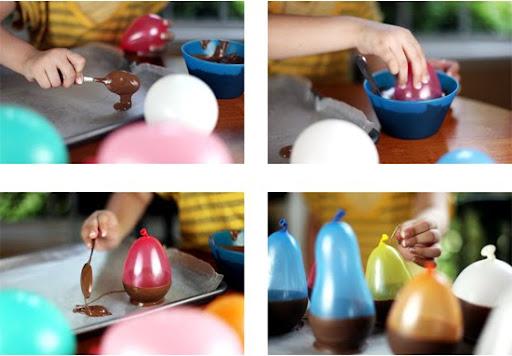 como hacer vasitos chocolate para chupitos de nochevieja