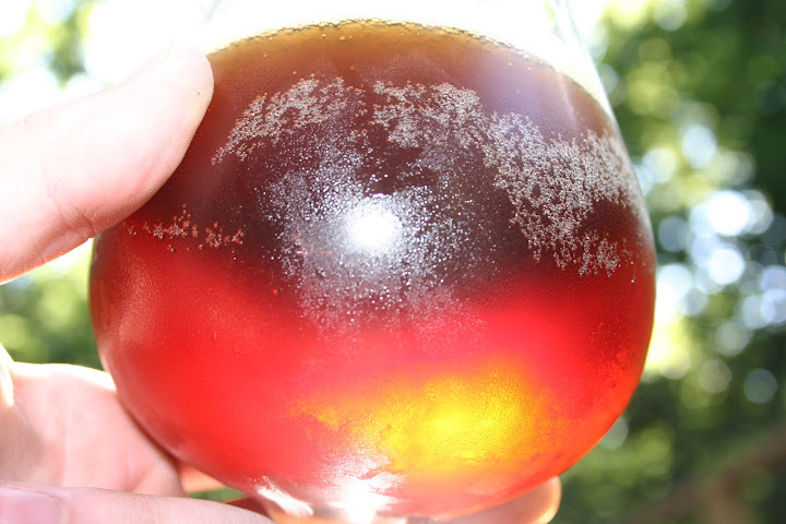 Brown Ale with Sunlight