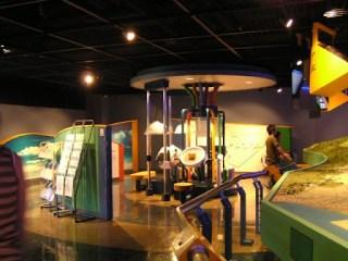 豊橋市水の展示館内部の様子