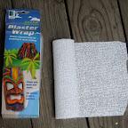 plaster infused cloth