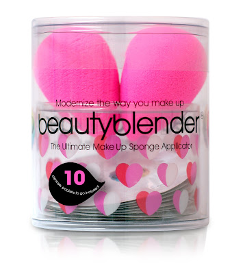 Special Valentine's Day gift pack of BeautyBlender makeup application sponges