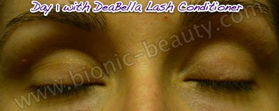 Bionic Beauty tests DeaBella eyelash conditioner