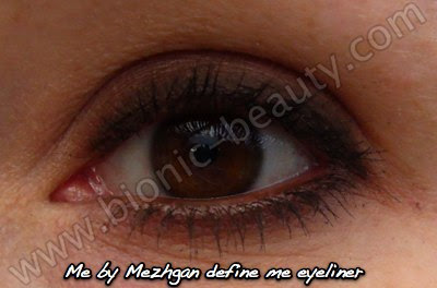 How to create a smokey eye with Mezhgan eyeliner