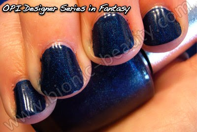 OPI Designer Series nail polish manicure in Fantasy - by Bionic Beauty