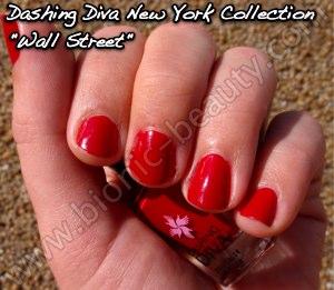 Dashing Diva Manhattan collection nail polish in Wall Street