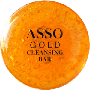 ASSO Gold bar face soap review on Bionic Beauty blog