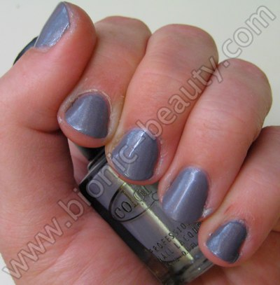 Bionic Beauty review and swatch - Color Club's Wild Orchid nail polish
