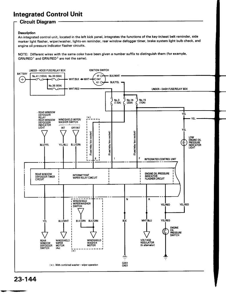 Integra key switch diagram chiltons import car manual