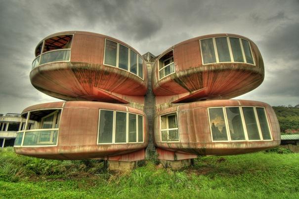 The Ufo House (Sanjhih, Taiwan)