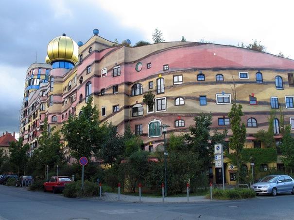 Forest Spiral - Hundertwasser Building (Darmstadt, Germany)