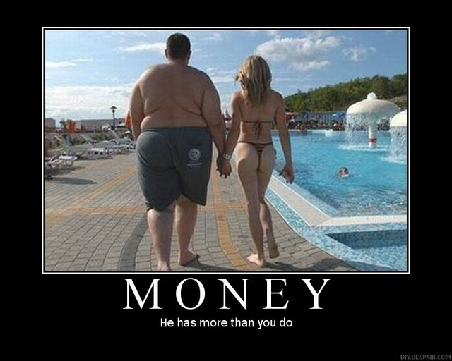 money motivational poster
