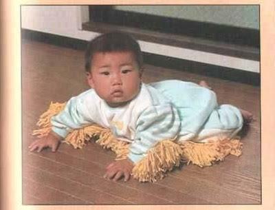baby mop